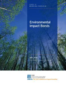 Environmental Impact Bonds
