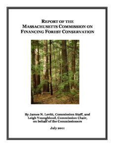 Report of the Massachusetts Commission on Financing Forest Conservation