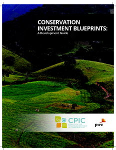 Conservation Investment Blueprints: A Development Guide
