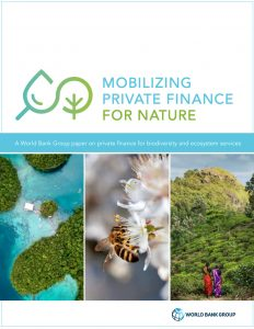 Mobilizing Private Finance For Nature (September 2020)